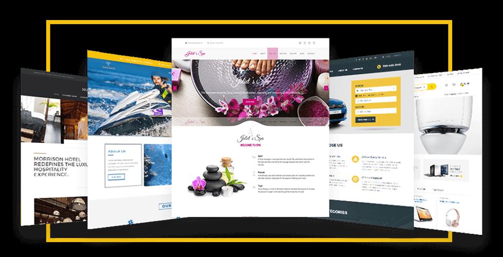 Showcase jasa pembuatan website